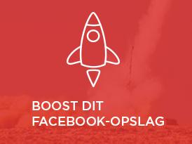 Boost af Facebook-opslag