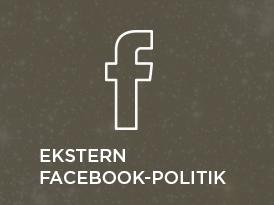 Ekstern Facebook-politik