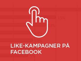 Like-kampagner på Facebook