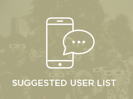 Suggested user list