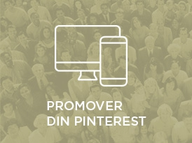 Promover din Pinterest på andre sociale medier og website