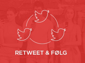Retweet og følg