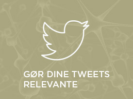 Gør dine tweets relevante