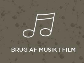Brug af musik i film